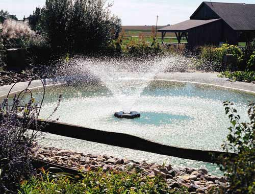 Kasco marine f3400 decorative aerators for outdoor for Do it yourself pond