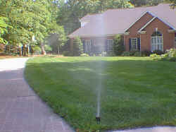 Lawn Sprinklers, Irrigation Systems, Products and Design.