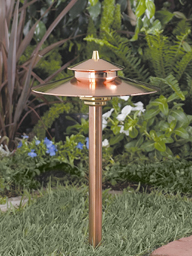 Vista Model 2126 Copper Path Light